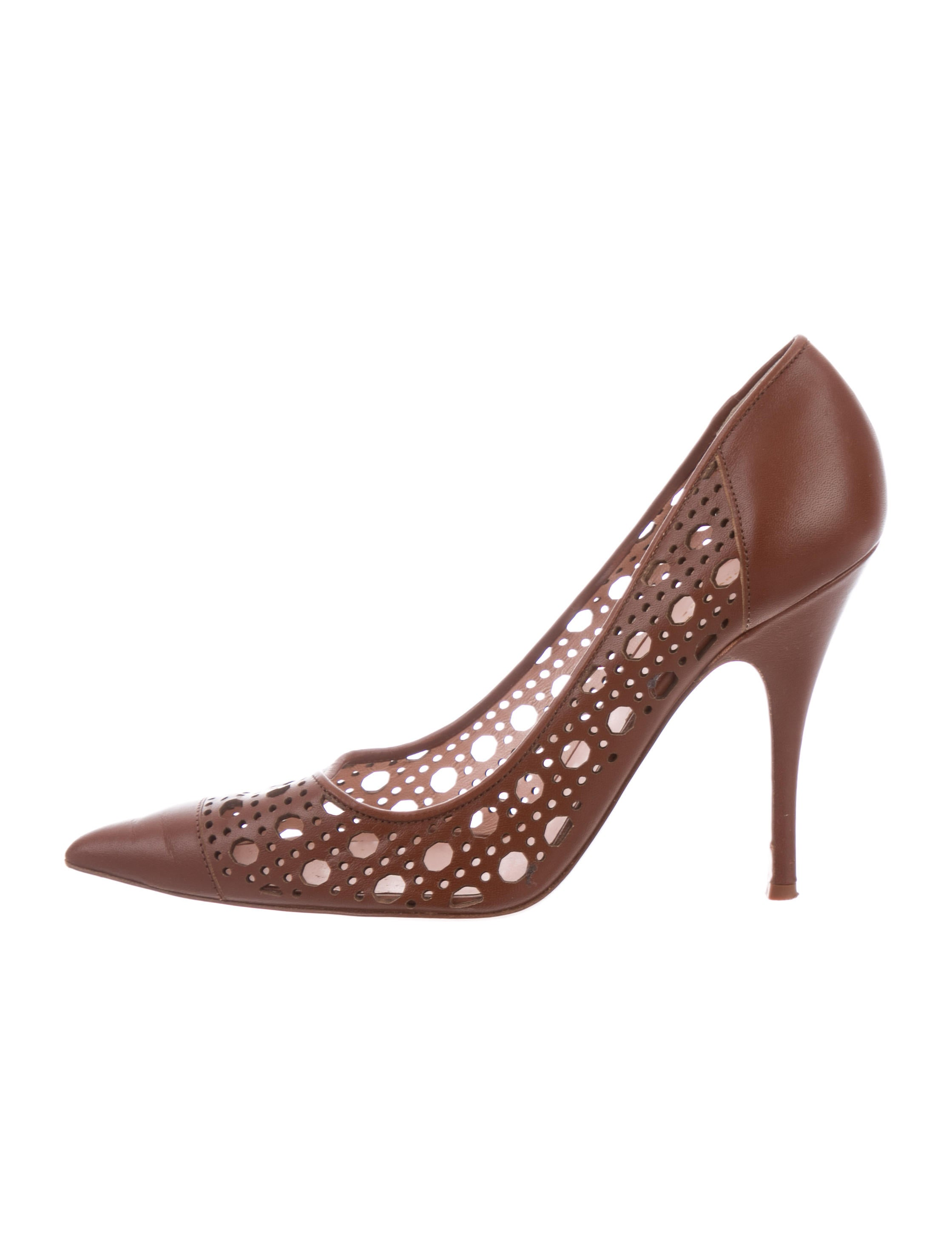 Kate Spade New York Perforated Pointed-Toe Pumps footlocker finishline cheap online clearance reliable free shipping find great EhKPdITZYm