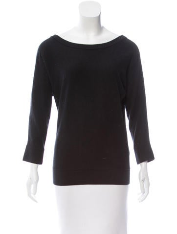 Kate Spade New York Rib Knit Long Sleeve Sweater None