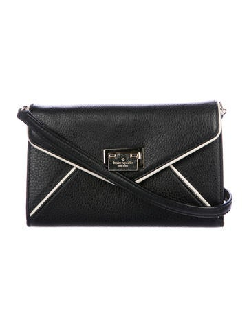 Kate Spade New York Leather Envelope Clutch None