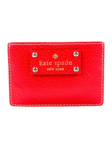 Kate Spade New York Textured Leather Card Holder None