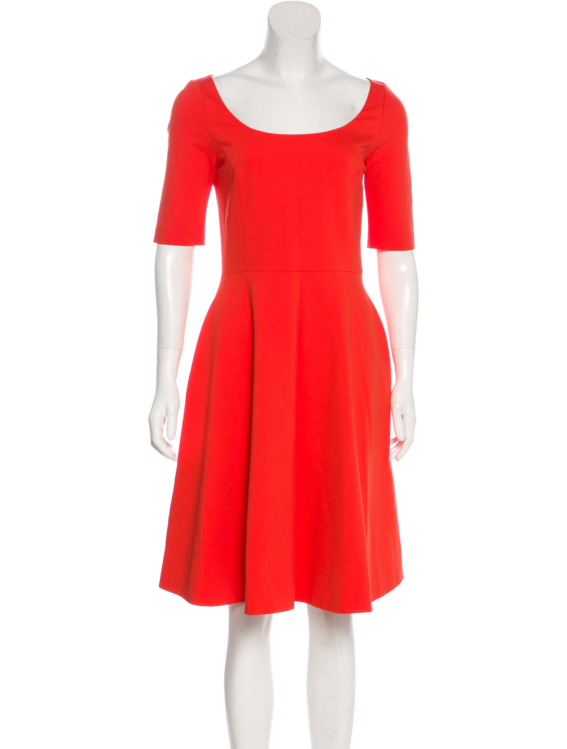 Kate Spade New York Knee-Length A-Line Dress Free Shipping Big Discount Nice Comfortable For Sale Cheap Footlocker Outlet Reliable nAHzF2DxP