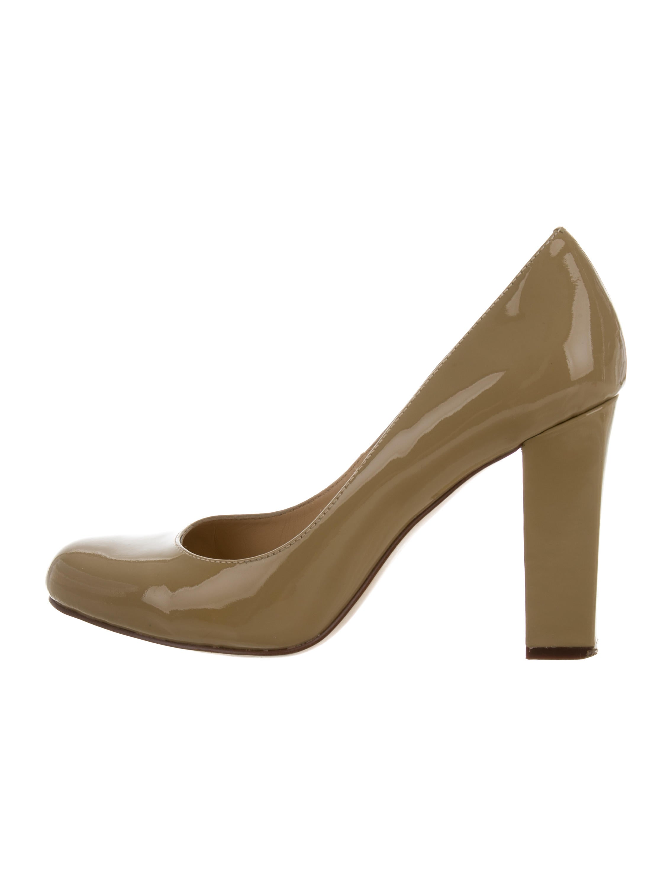 Kate Spade New York Patent Leather Round-Toe Pumps discount amazing price sale outlet NED5Nk5