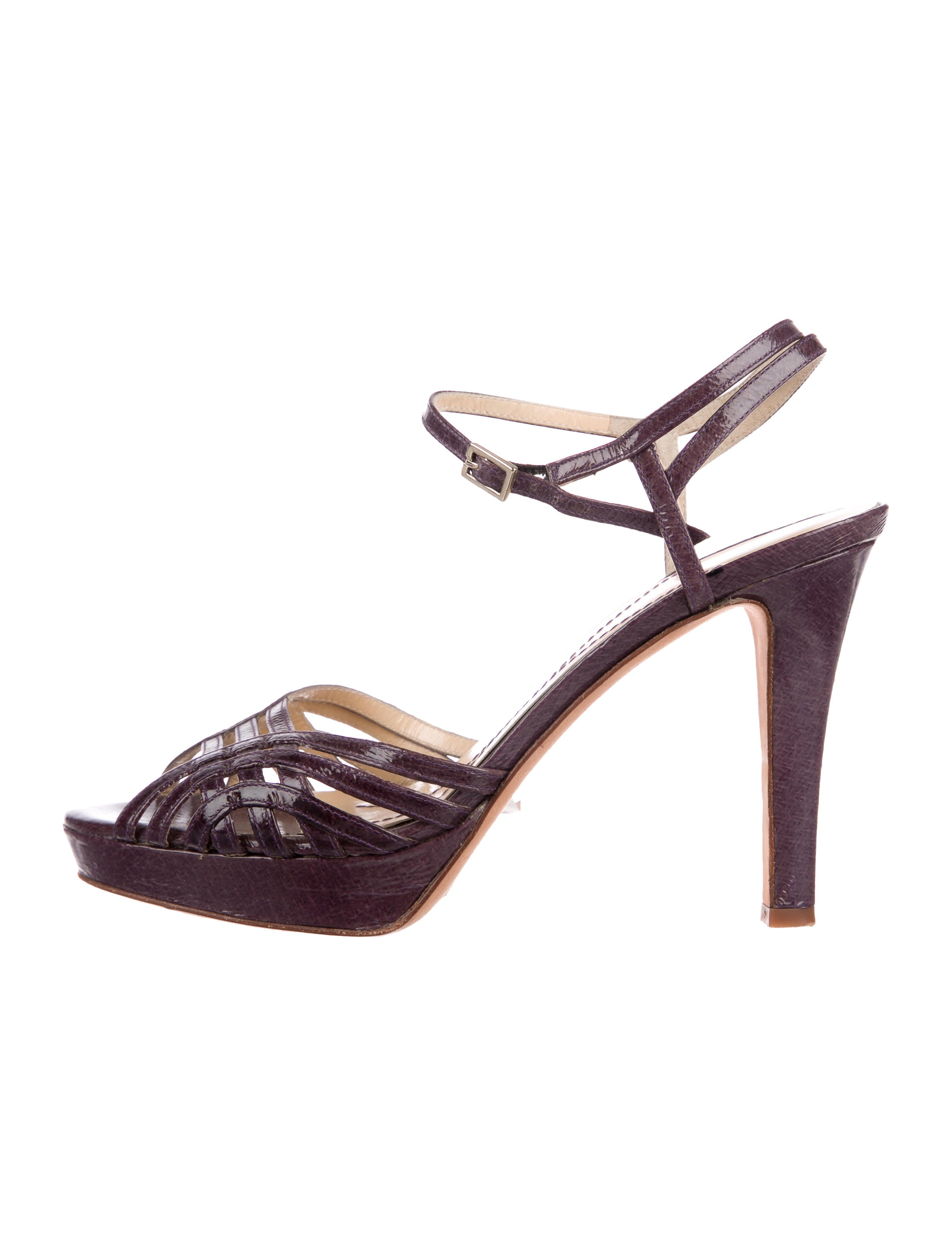 Kate Spade New York Leather Multistrap Sandals manchester great sale sale online 93ruZAI