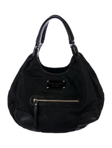 Product Name Kate Spade New York Leather Trimmed Nylon Hobo