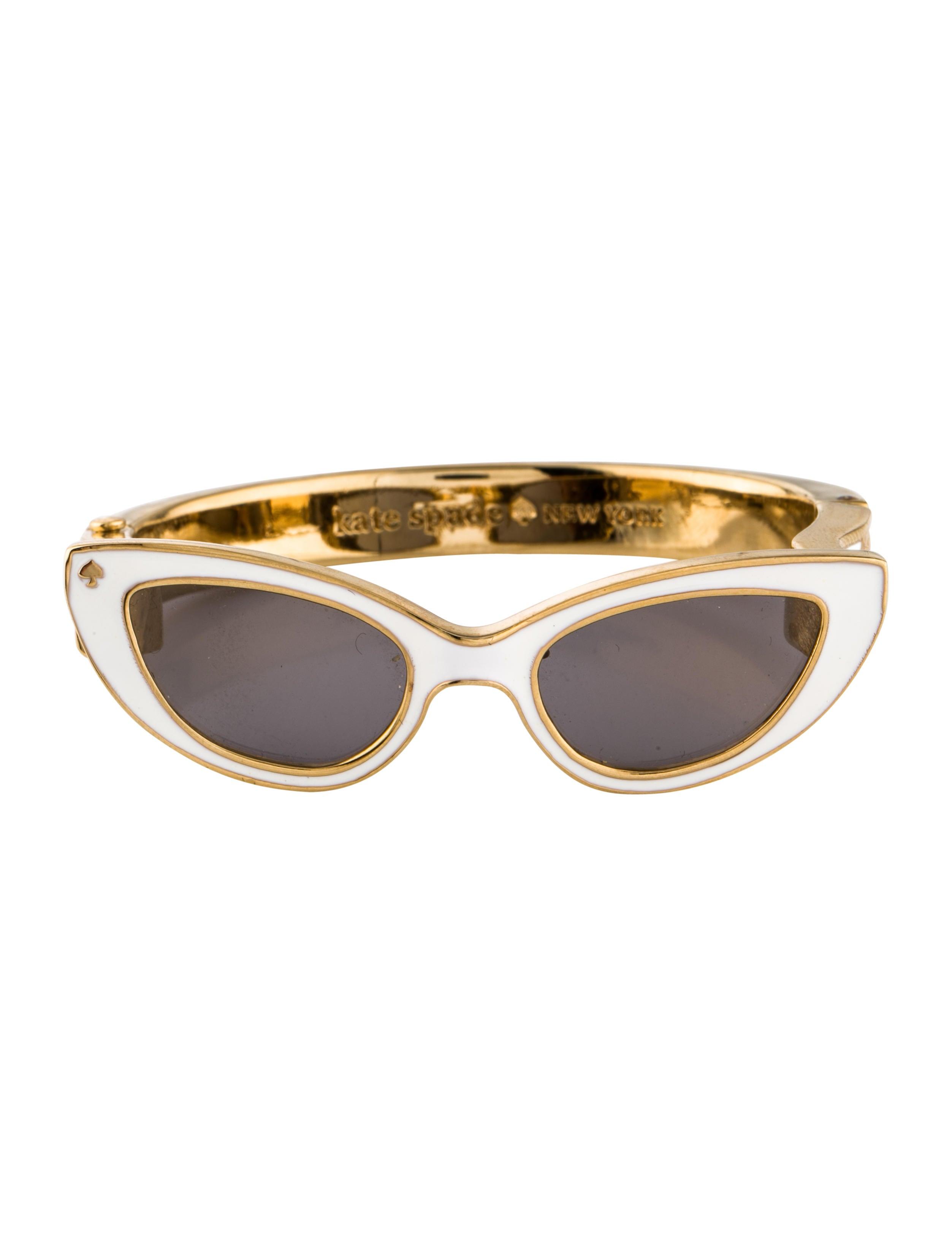 b4804f8db31 Kate Spade New York Enamel Glasses Hinged Bangle - Bracelets ...