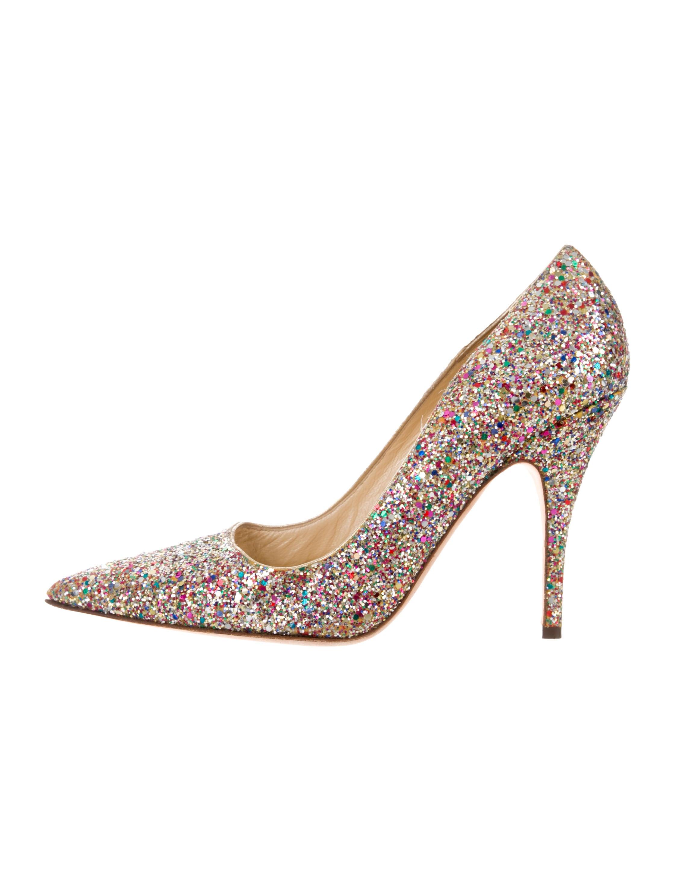 c3c8e8d24c45 Kate Spade New York Licorice Too Glitter Pumps - Shoes - WKA87525 ...