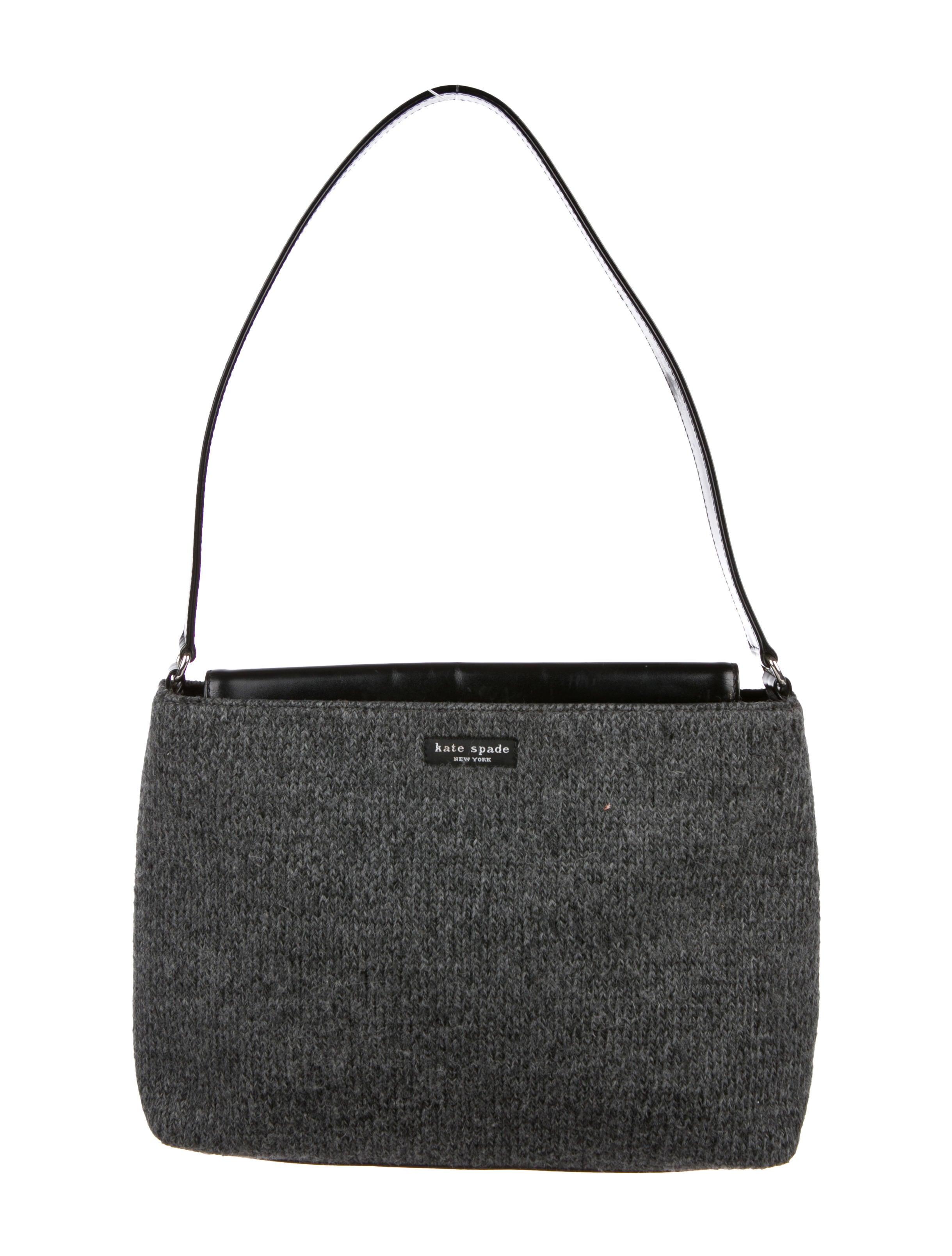 c928120617 Kate Spade Grey Wool Purse - Best Purse Image Ccdbb.Org