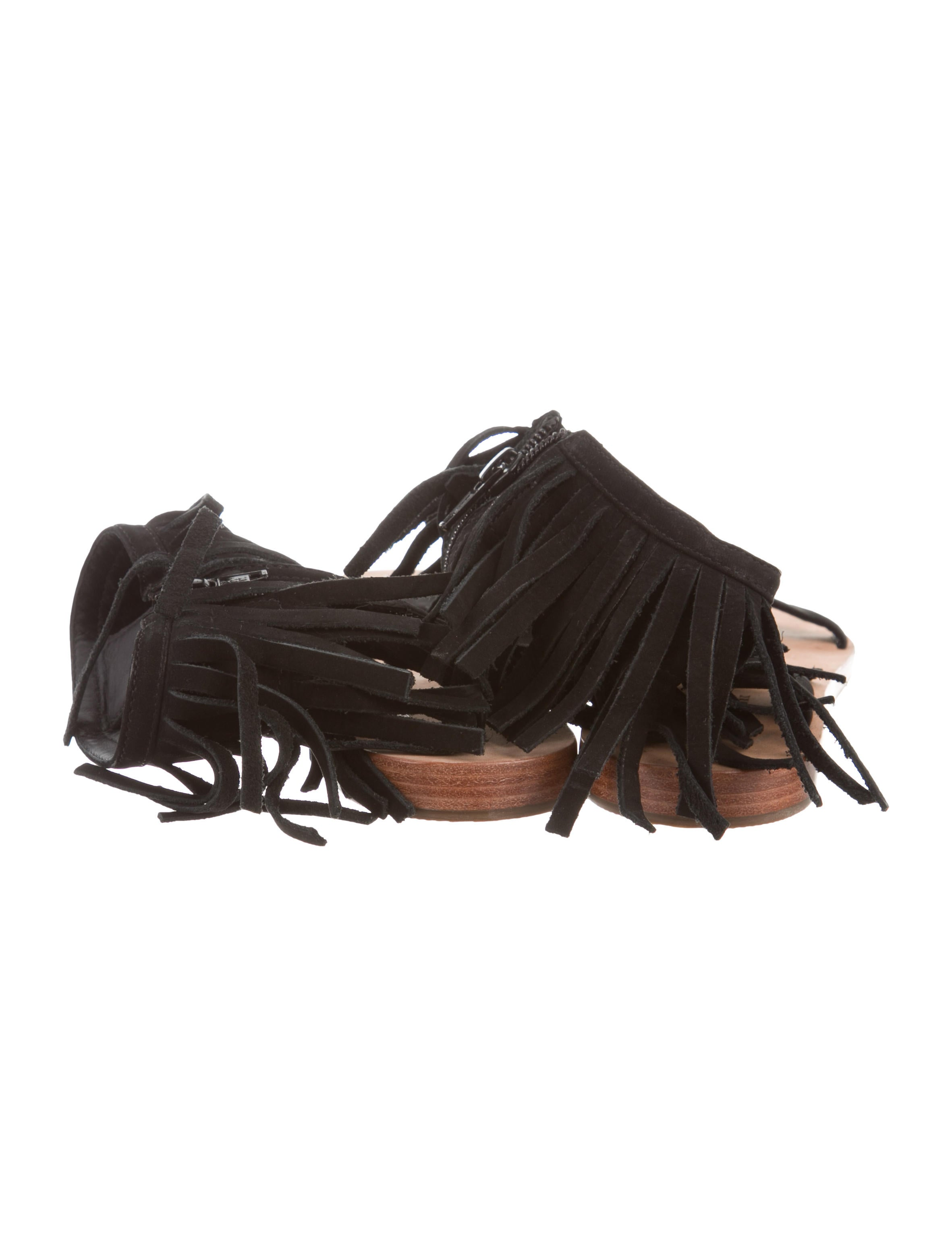 76b2eef4ca5d Kate Spade New York Halle Fringe Sandals - Shoes - WKA89325