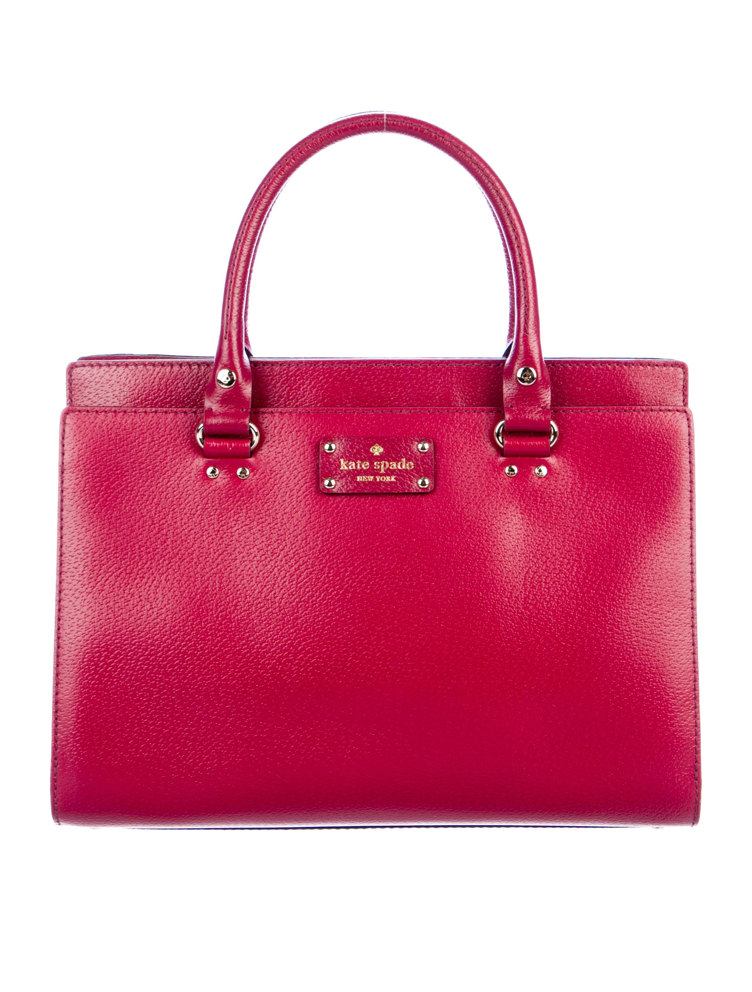 e956a51c348bc2 Kate Spade New York Wellesley Durham Bag - Handbags - WKA91984 | The  RealReal