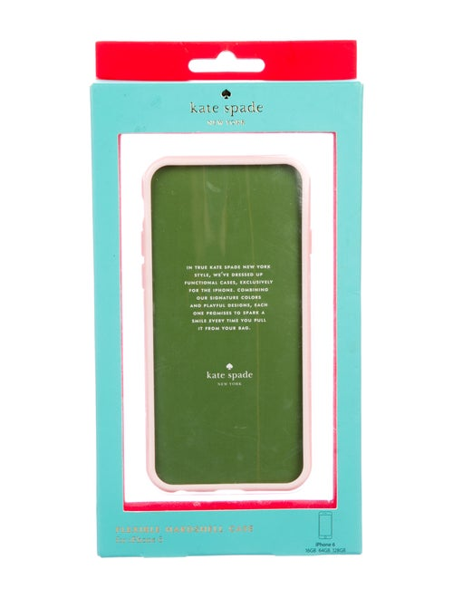 reputable site a62d7 f6a9f Kate Spade New York Flexible Hardshell iPhone 6 Case w/ Tags ...