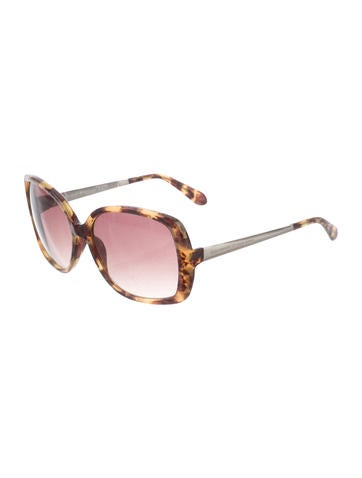 3cf4bc0f21 Kate Spade New York. Marbled Oversize Sunglasses