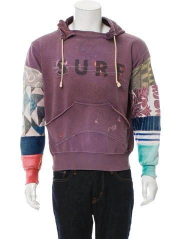 Kapital Patterned Hooded Sweatshirt None