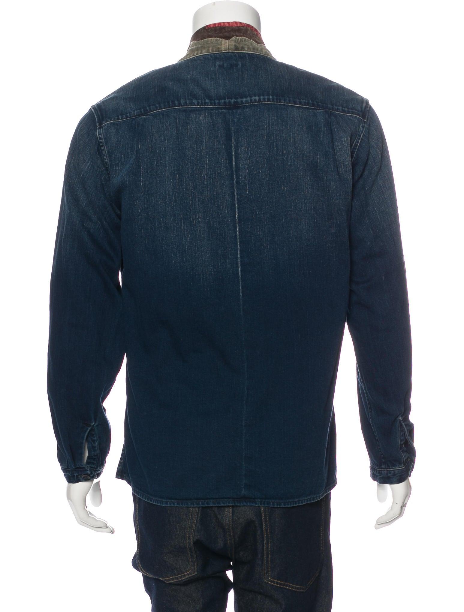 Kapital Jubbahn Distressed Shirt Jacket Clothing