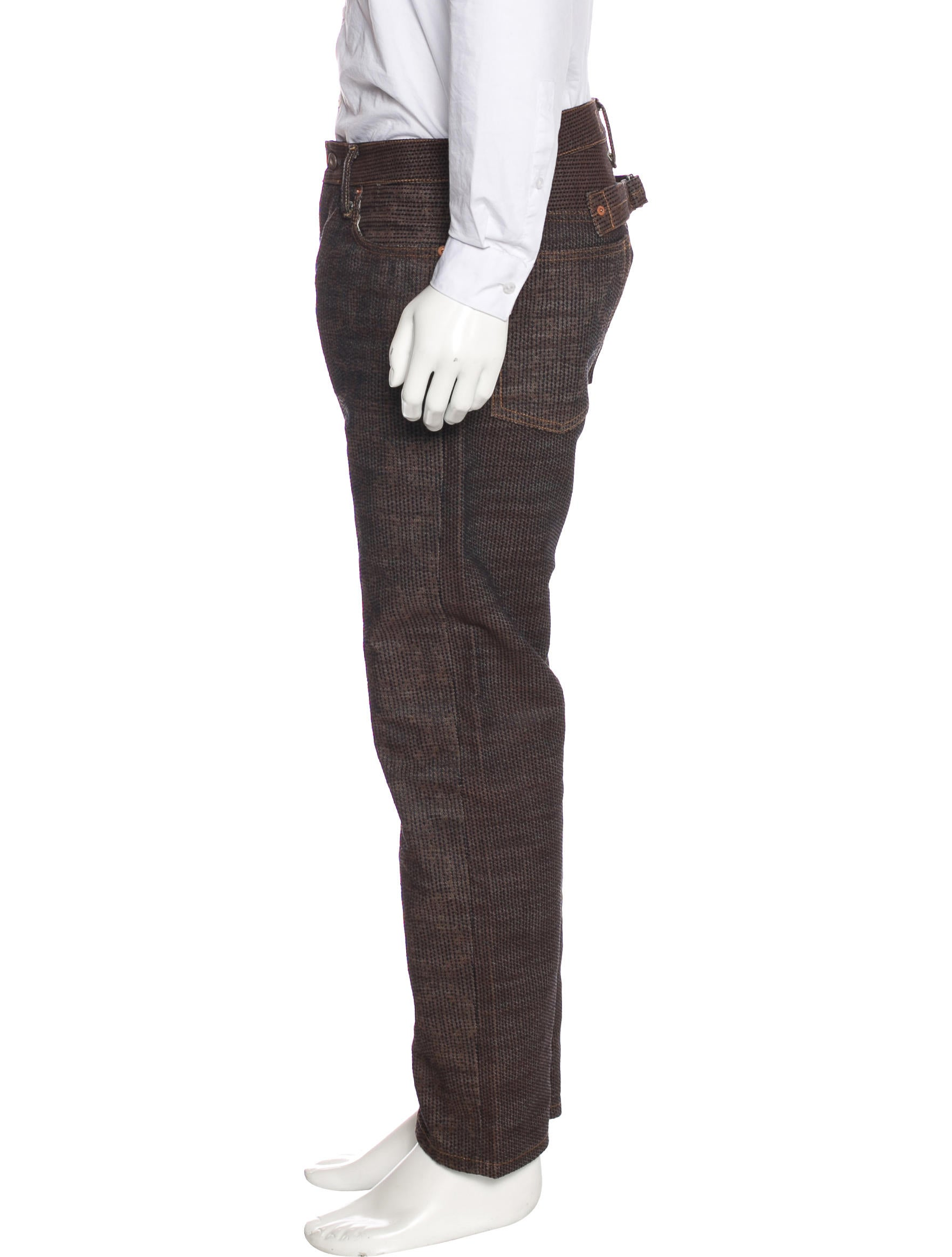Kapital embroidered straight leg jeans clothing