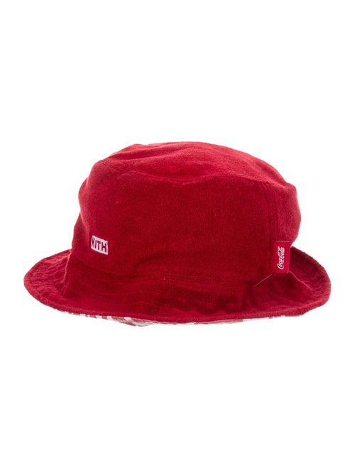 Kith x Coca-Cola Terrycloth Bucket Hat Red