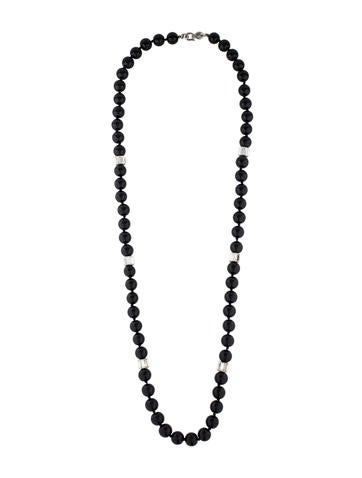 Bead and Crystal Necklace