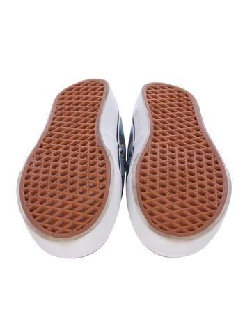 Kenzo X Vans Lightning Bolt Print Sneakers Shoes