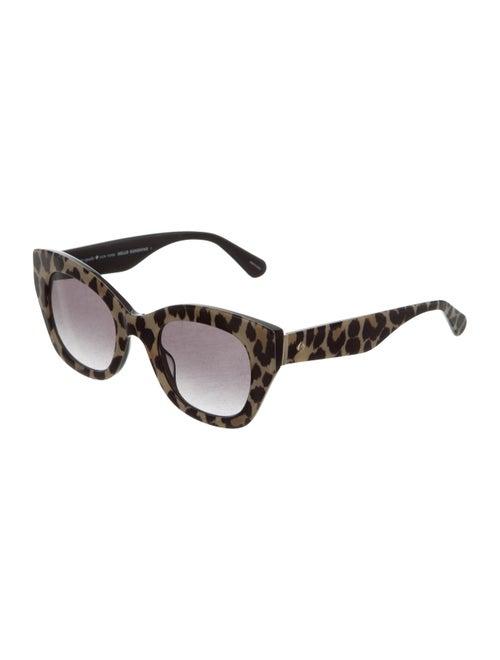 fed81db14d5f Hello Sunshine Leopard Print Sunglasses Hello Sunshine Leopard Print  Sunglasses ...