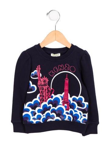 Kenzo Kids Boys' Logo Statue of Liberty Sweatshirt w/ Tags None