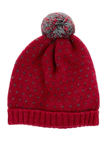 Nanos Girls' Knit Wool And Alpaca-Blend Hat w/ Tags None