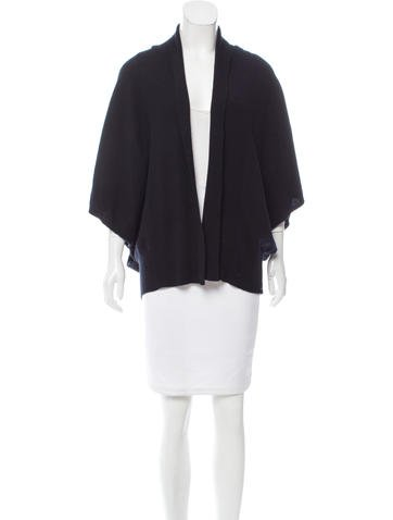 Kinross Cashmere Cashmere Open-Front Cardigan None