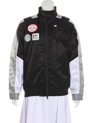 KITH Daytona Racing Zip-Up Jacket None