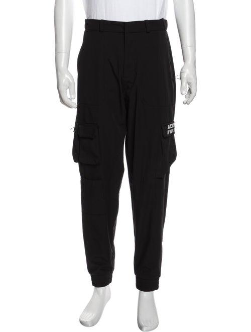 Kith Graphic Print Cargo Pants Black - image 1