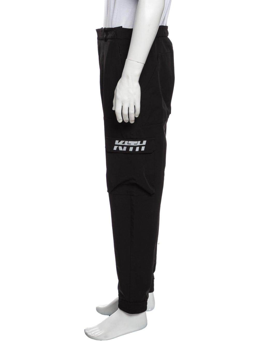 Kith Graphic Print Cargo Pants Black - image 2