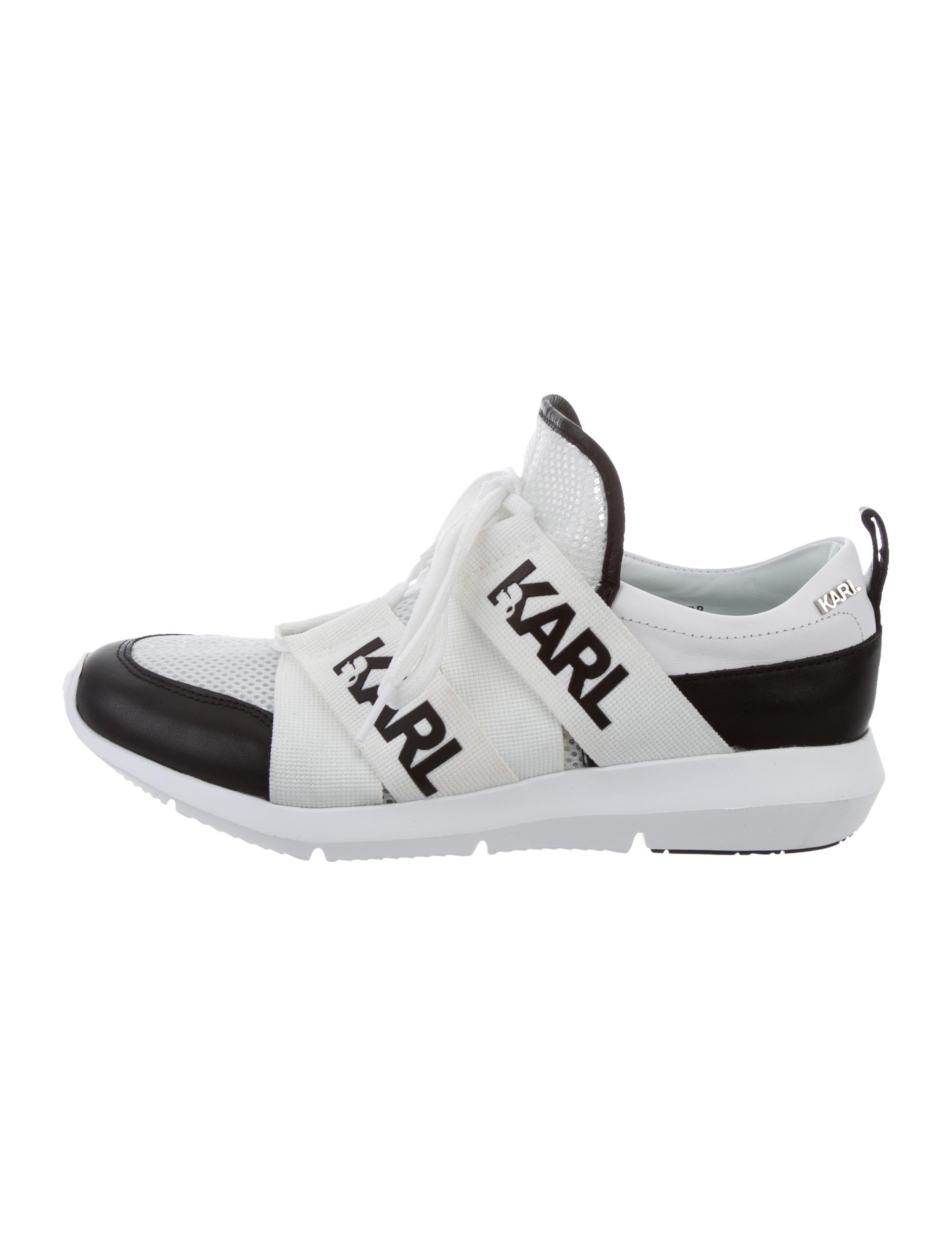 Slip on Sneakers for Women On Sale, Black, Rubber, 2017, 3.5 4.5 6.5 7.5 8.5 Karl Lagerfeld