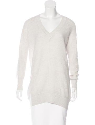 Karen Millen Long Sleeve Knit Sweater None