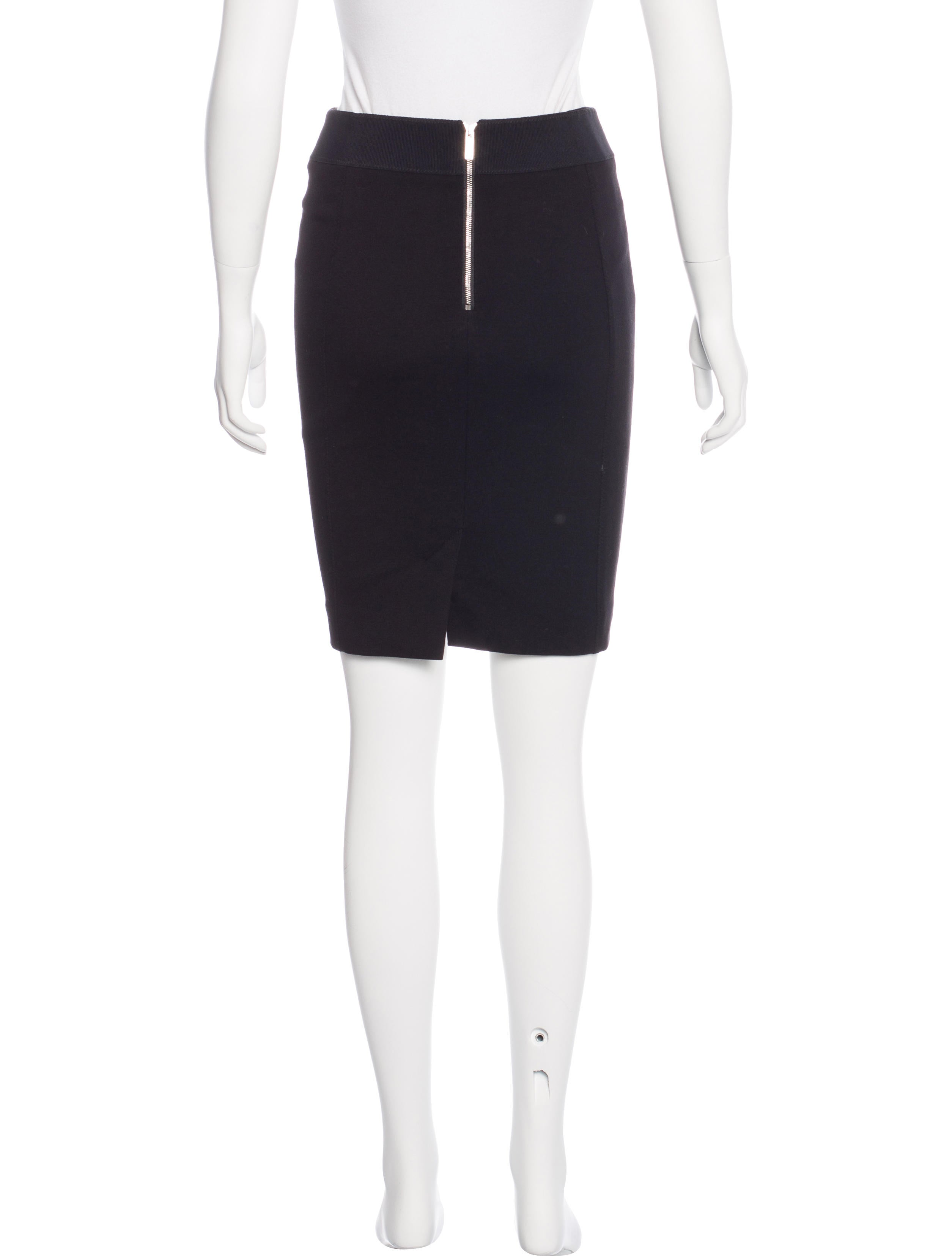 millen lam 233 patterned pencil skirt clothing