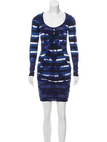 Karen Millen Printed Mini Dress None