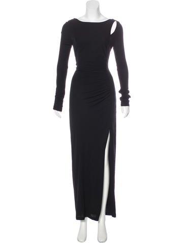 Cutout Evening Dress