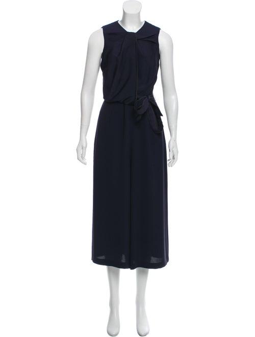 7d69f5b8a8c Karen Millen Sleeveless Wide-Leg Jumpsuit - Clothing - WKM25239 ...