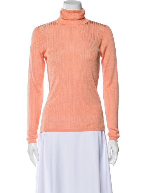 Karen Millen Turtleneck Long Sleeve Sweatshirt w/