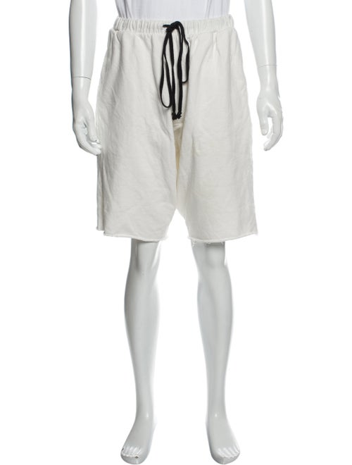 Knomadik Jogger Shorts White