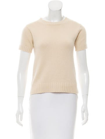 Kors by Michael Kors Crew Neck Cashmere Top None