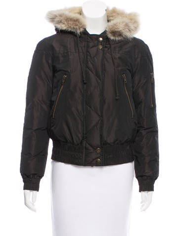 Kors by Michael Kors Fur-Trimmed Down Jacket None