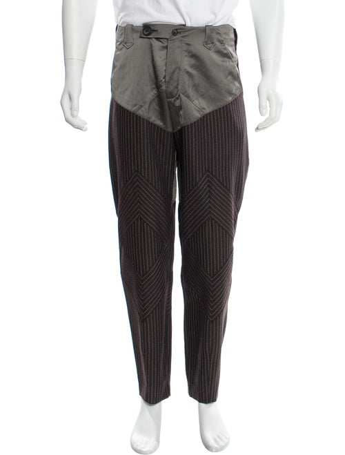 Kiko Kostadinov Virgin Wool Pinstripe Pants w/ Tag