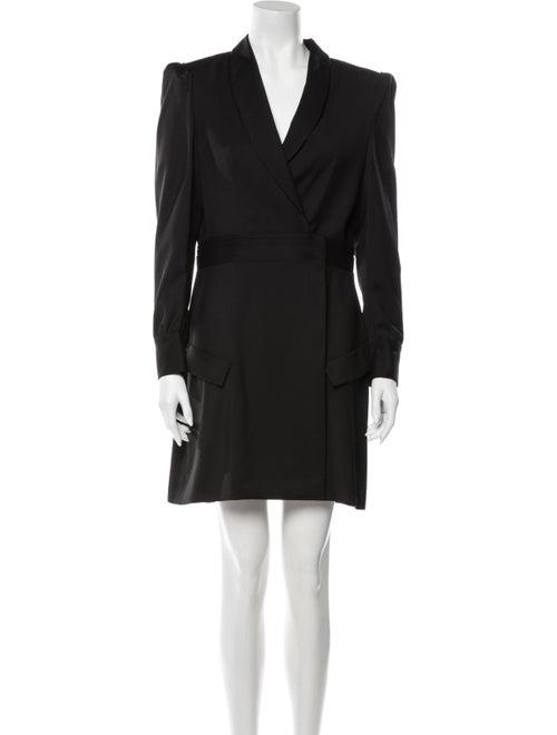 The Kooples Wool Mini Dress Wool