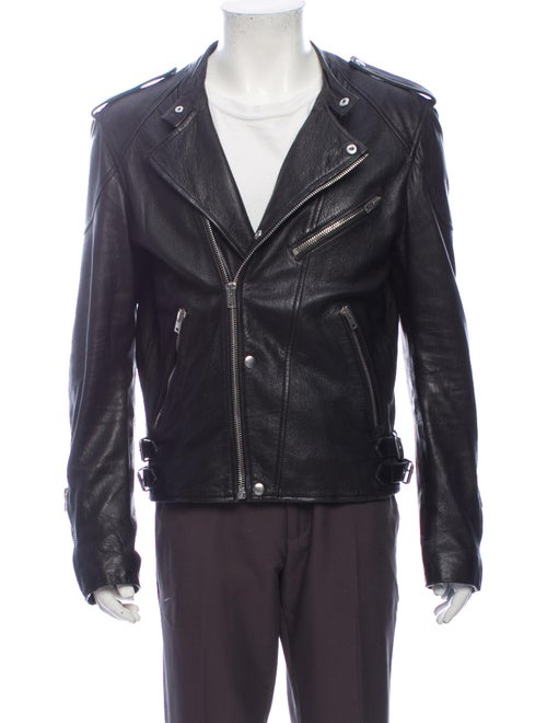 The Kooples Moto Jacket Black