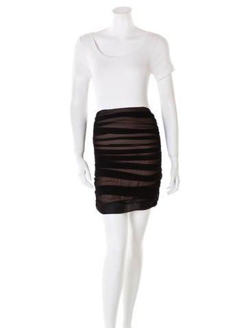 Kimberly Taylor Gathered Silk Skirt None