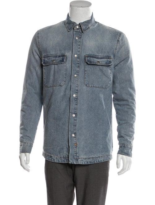 Skream Anti Shirt Jacket w/tags indigo