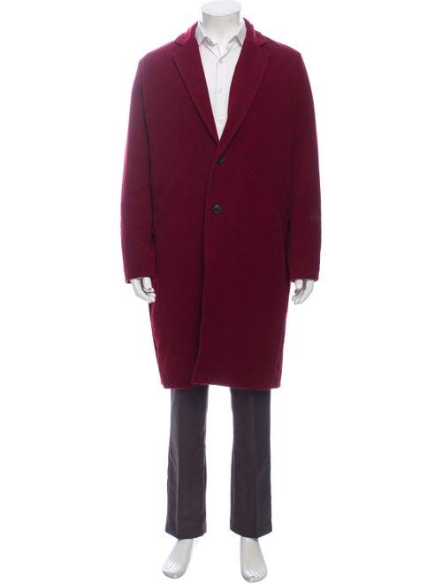 Ksubi Overcoat Red