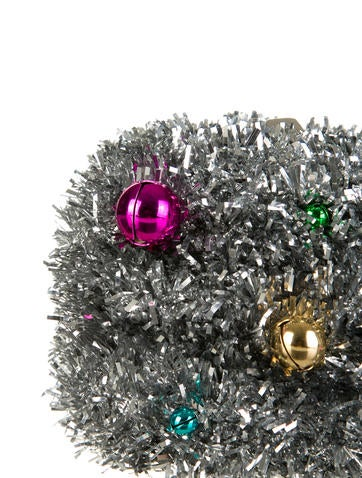 Margo Jingle Tinsel Clutch