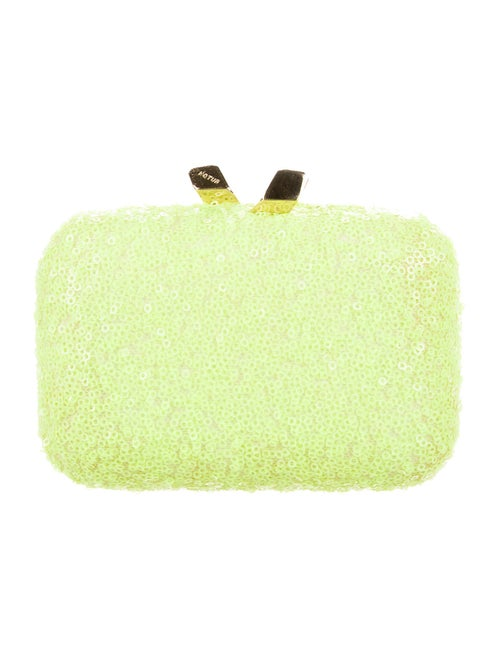 Kotur Sequin Convertible Clutch Green