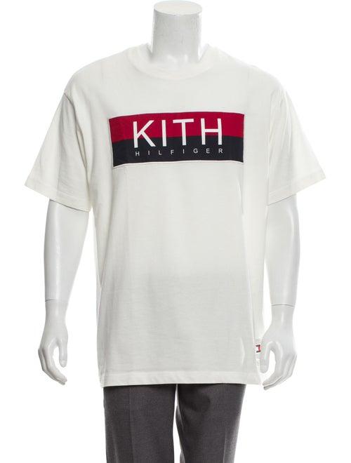 871baced8707 Kith x Tommy Hilfiger Logo Print Short Sleeve T-Shirt - Clothing ...