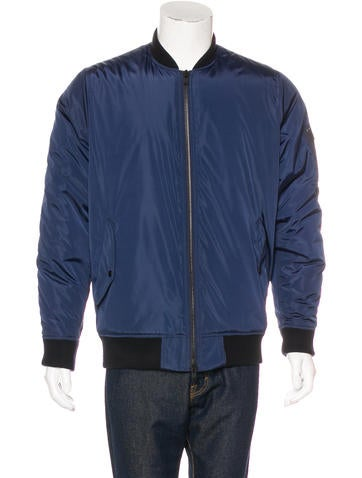 Kith NYC Rib Knit-Trimmed Bomber Jacket None