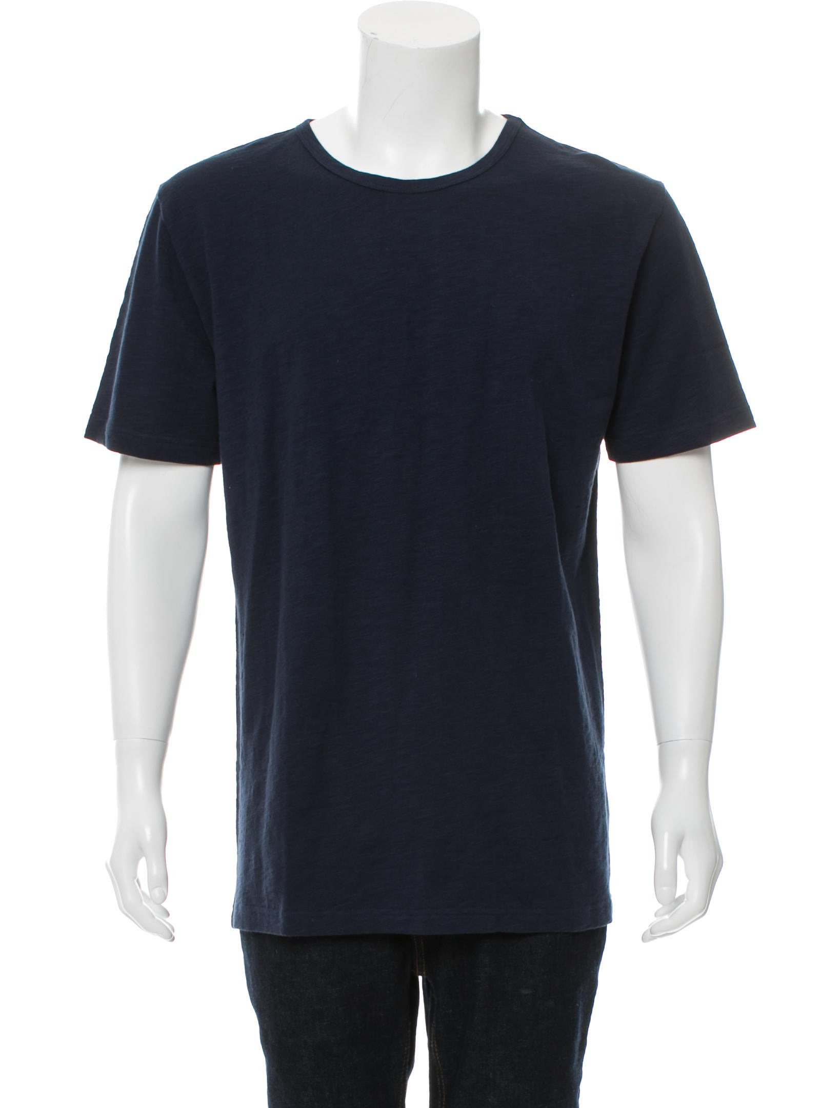28610a92d43f3f Kith NYC Woven Crew Neck T-Shirt - Clothing - WKTIG20050 | The RealReal