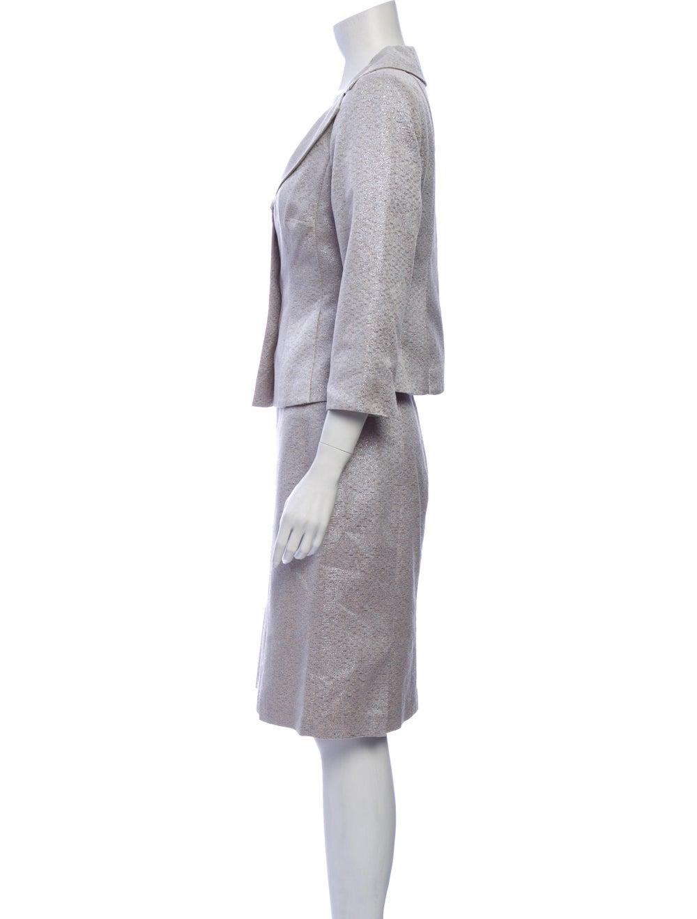 Kay Unger Skirt Set Metallic - image 2